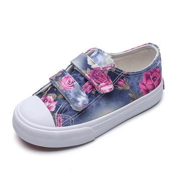 e4391266f Детская обувь для девочек Детская текстильная обувь 2019 г. Новые весенние  модные детские повседневные кроссовки супер идеальный дизайн обув.