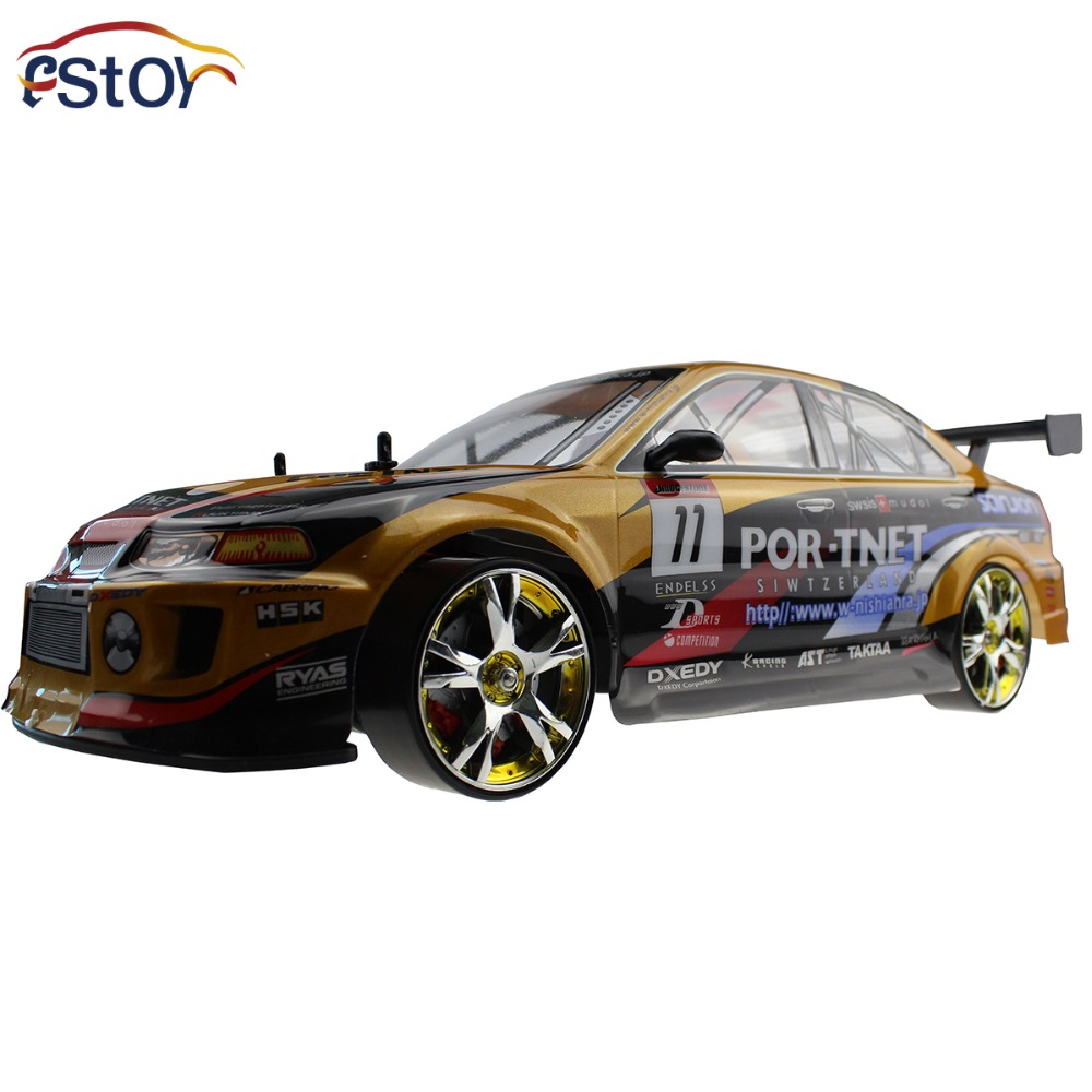 large 4wd drift car rc 1 10 radio control electric rtr. Black Bedroom Furniture Sets. Home Design Ideas