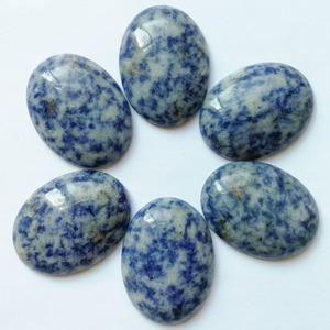 Image 5 - Fashion 12pcs natural stone beads for Jewelry making oval cabochon 30x40MM no hloe charm  mixed ring accessories Free shipping