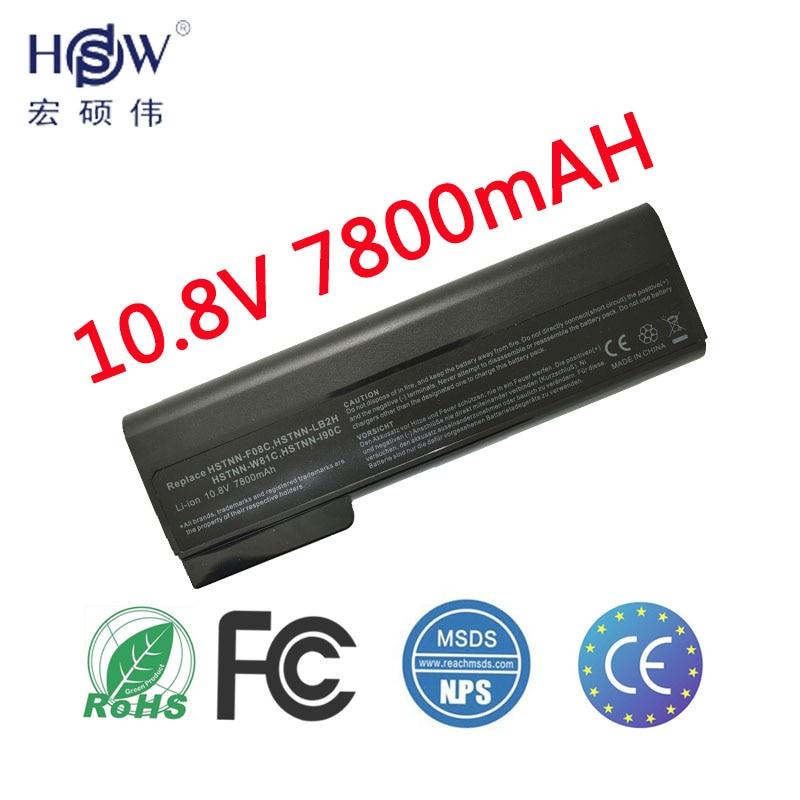 HSW Laptop Battery For Hp EliteBook 8460p 8460w 8560p ProBook 6360b 6460b 6465b 6560b 6565b CC06 CC06X CC06XL CC09 Battery