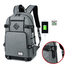 Anti Theft Laptop Backpack Usb Charging 15.6 Backpacks Men Slim Waterproof  School Backpack Bag Women Male