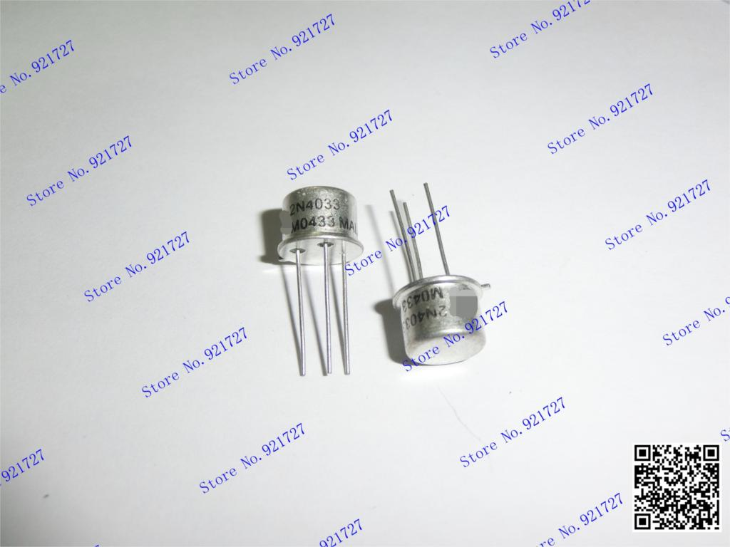 2 PIECES 2N4033 TO-39