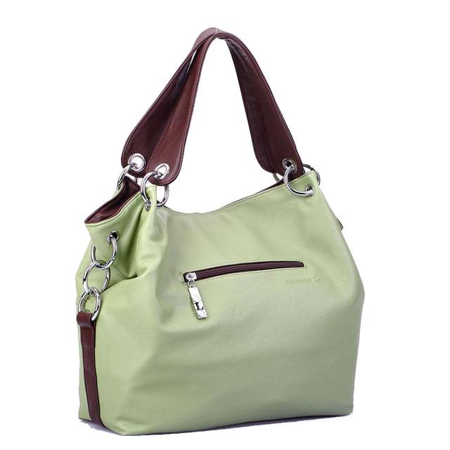 Pillow Shape Leather Shoulder Crossbody Ladies Handbags