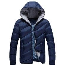 Новое прибытие! 2016 горячей продажи Зимние мужчин холодно вниз пальто; Мода Сплошной цвет дизайн парка; размер М, чтобы 3XL 79
