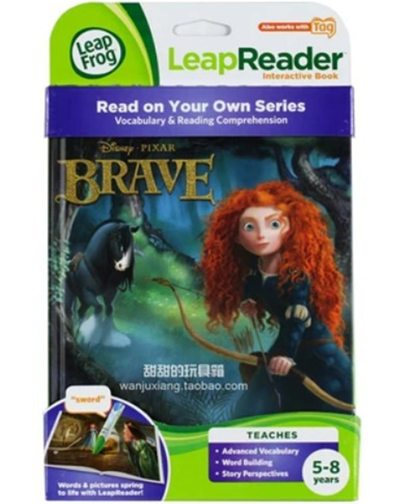 tag PIXAR Brave Children story books children English reading book for baby kids english picture Books for children лонгслив printio ice king x batman
