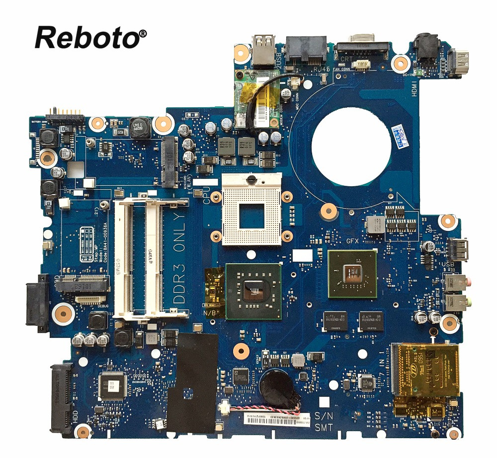 Reboto For Samsung NP-R710 R710 Laptop Motherboard 9300M 256MB BA92-04959A BA41-00936A PM45 DDR3 Mainboard 100% Tested Fast Ship