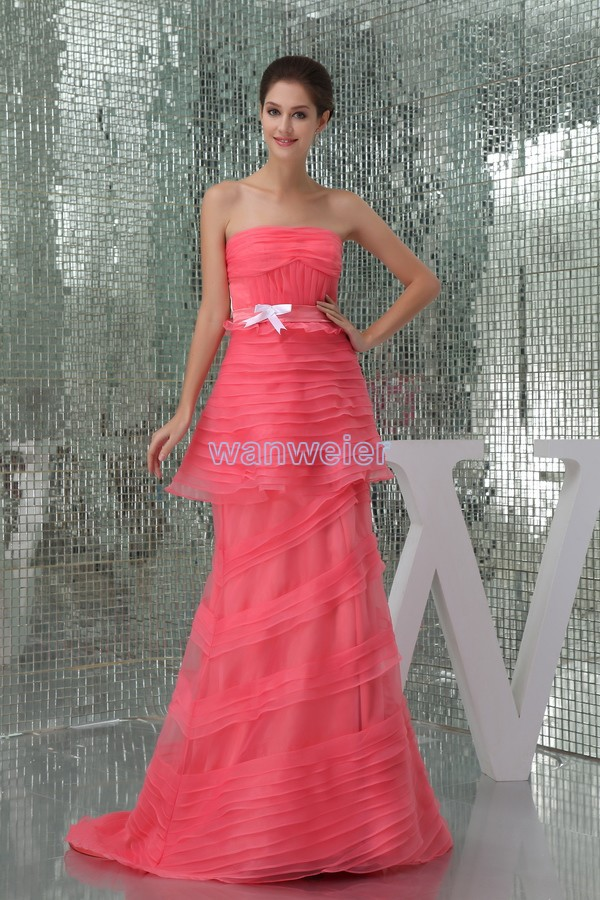 free shipping modest 2013 new design hot seller plus size red gown beach brides maid dressed red choosing bridesmaids dresses