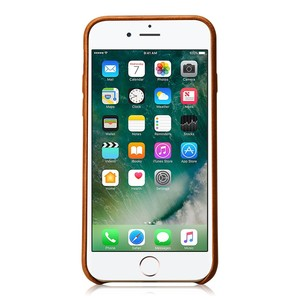 Image 3 - Jisoncase Genuine Leather Cover for iPhone 7 7 Plus Case Luxury Back Cover Slim Mobile Phone Case for iPhone 8 8 Plus Anti knock