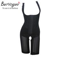 Burvogue Tute Sexy Butt Lift Shaper Underwear Tummy Controllo Vita Trainer Che Dimagrisce Shaper Del Corpo Sottoveste Shapewear M-4XL