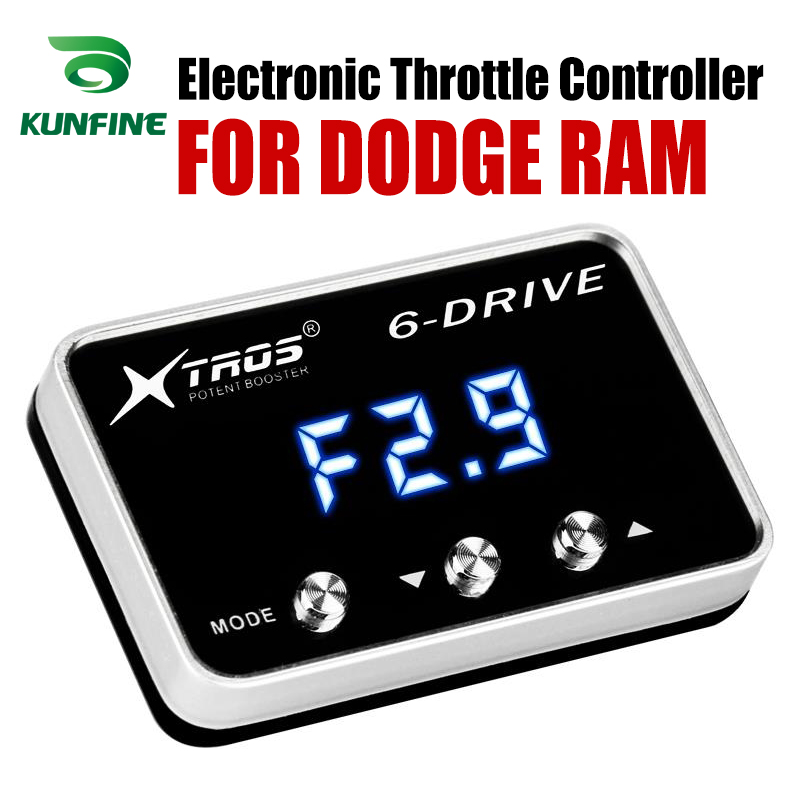 Car Electronic Throttle Controller Racing Accelerator Potent Booster For DODGE RAM Tuning Parts AccessoryCar Electronic Throttle Controller Racing Accelerator Potent Booster For DODGE RAM Tuning Parts Accessory