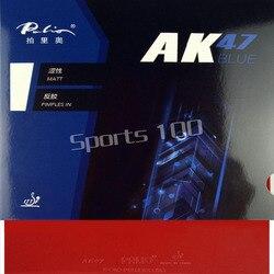 Palio AK47 AK-47 AK 47 bleu boutons mat en ping-pong Tennis de Table en caoutchouc avec éponge 2015 offre spéciale 2.2mm H38-40