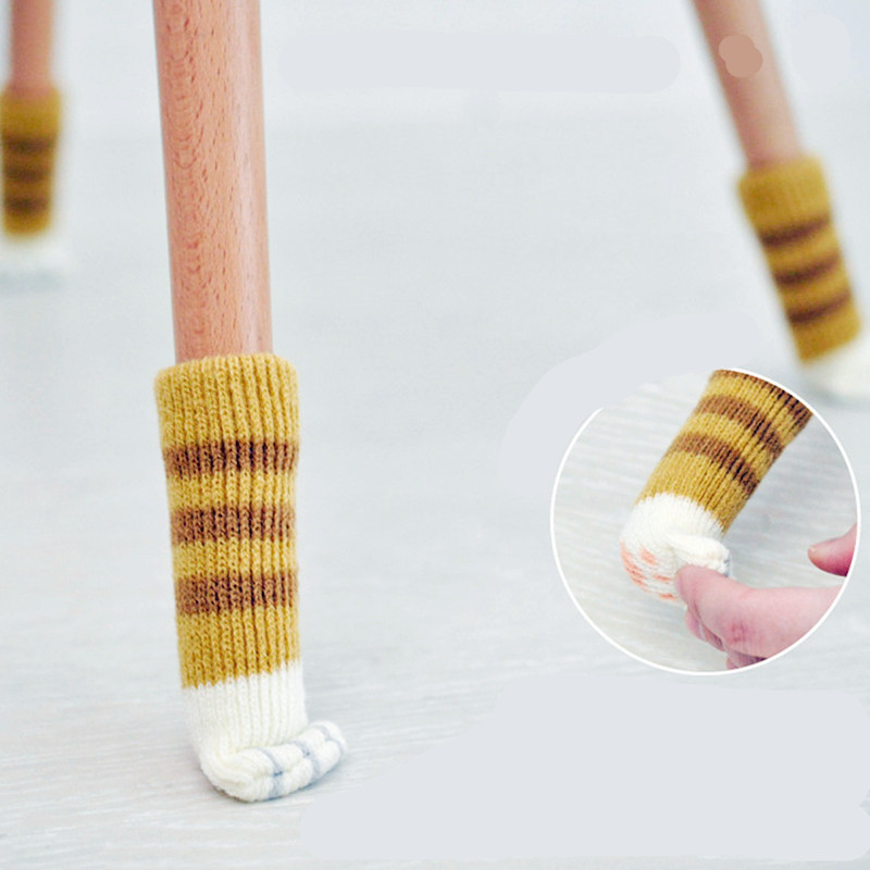 Cat's paw socks for chair legs! Fun and cute stuff!