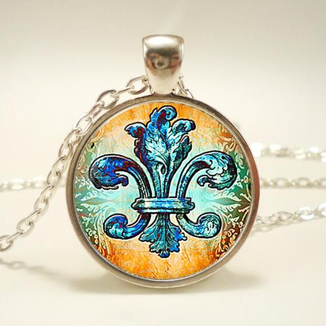 Fleur de lis pendant fleur de lis necklace heraldry jewelry royal fleur de lis pendant fleur de lis necklace heraldry jewelry royal heraldic sign aloadofball Choice Image
