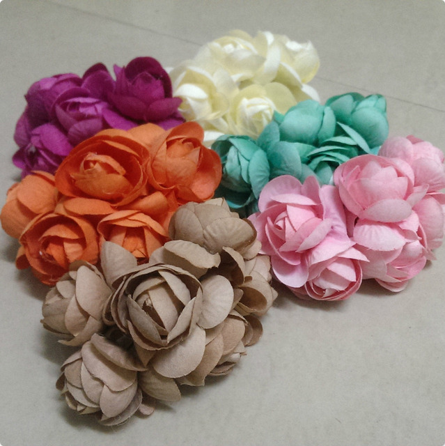 2014 BARU 4.5 5 cm (36 pcs lot) MIX WARNA Mulberry Flower Bouquet ... 3d3b5bf0c4