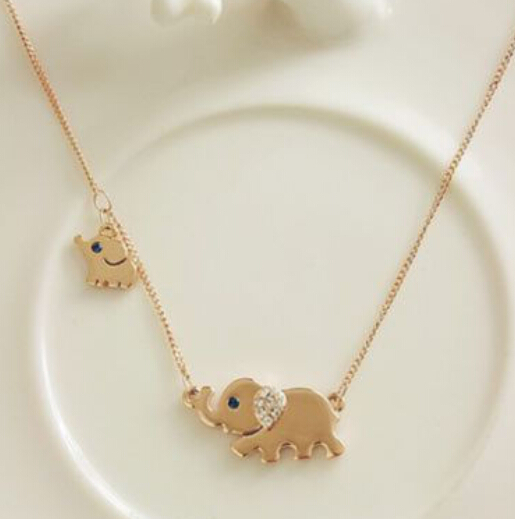 Chain Necklaces Necklaces & Pendants Systematic 2018 Choker Kolye Moana Collares Maxi Necklace New Jewelry Elephant Family Stroll Design Fashion Charming Chain Animal Chocker High Quality
