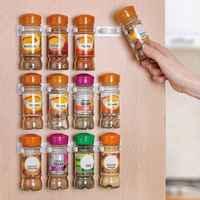 Spice Clip set organisiert bis zu 12 spice gläser Spice Rack Lagerung/organizer