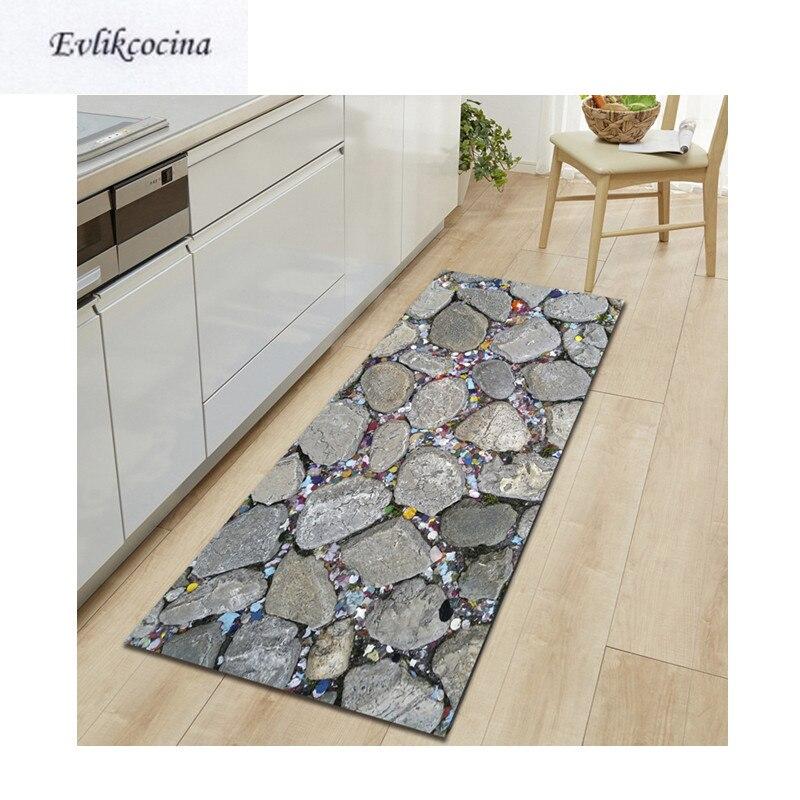 Frete grátis pequenas pedras alfombras para la sala moderna absorvente tapete de banho ao ar livre tapete tapete para alfombra bano
