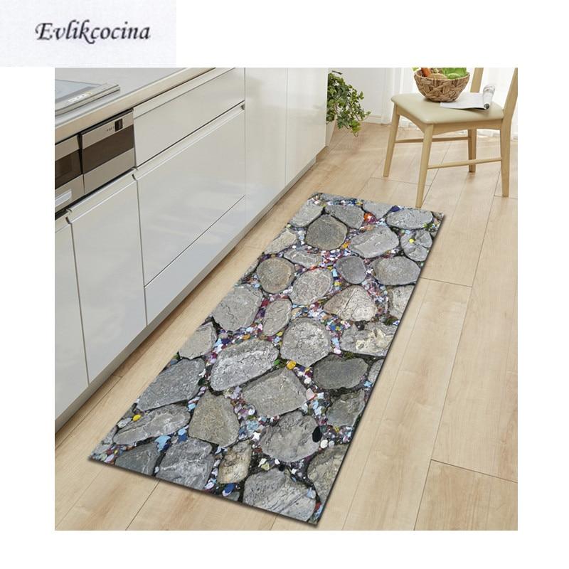 Livraison gratuite petites pierres Alfombras Para La Sala tapis de bain absorbant moderne tapis extérieur Tapete Banheiro tapis pour Alfombra Bano