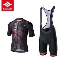 Santi 2017 Biking Jerseys Breathable Tour De France Racing MTB Street Bike Units Clothes Fast Dry Cycle Bicycle Fits Sportswear