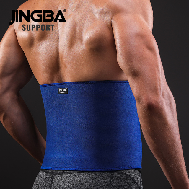JINGBA SUPPORT fitness belt Back waist support sweat belt waist trainer waist trimmer musculation abdominale Sports Safety 2