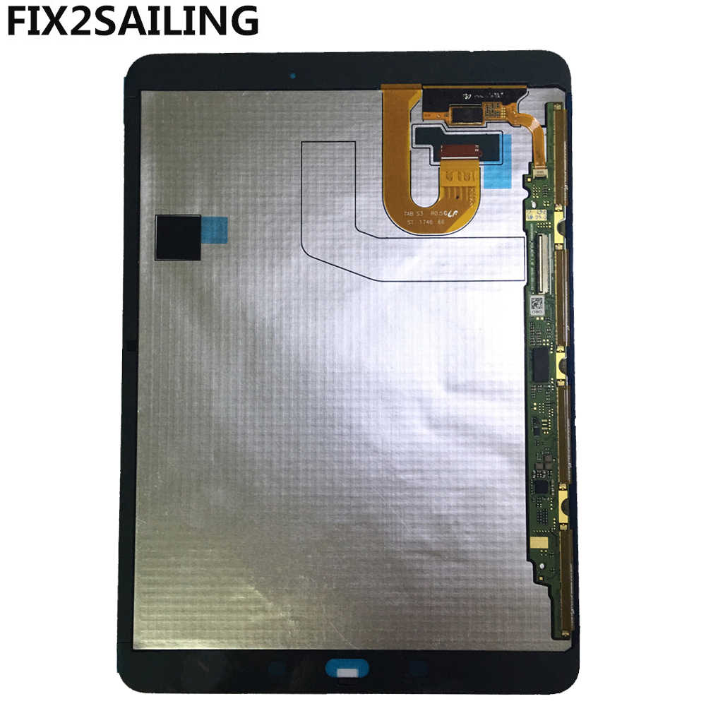 "9.7 ""Lcd 'S Voor Samsung Galaxy Tab S3 T820 T825 Lcd-scherm + Touch Screen Digitizer Vergadering Voor Samsung Galaxy tab S3 T820 Display"