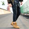 Продвижение мода высокого качества зимние брюки-карго мужские камуфляж военные брюки хлопок плюс армия брюки