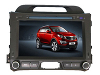 Free Shipping 8 Car DVD Player For Kia Sportage R 2010 2011 2012 Front Big Usb