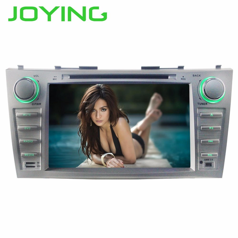 JOYING 2 DIN 8 INCH Android 8 Octa core car autoradio stereo GPS player for Toyota