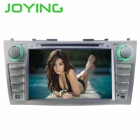 JOYING 2 DIN 8 INCH Android 8 Octa core car autoradio stereo GPS player for Toyota Camry 2007 2011 GPS Tape Recorder for Aurion