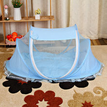 High quality Baby Mosquito Net Baby Infant Children Tent Mattress Cradle Bed Canopy Cushion + Pillow(China)