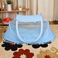 High quality Baby Mosquito Net Baby Infant Children Tent Mattress Cradle Bed Canopy Cushion + Pillow