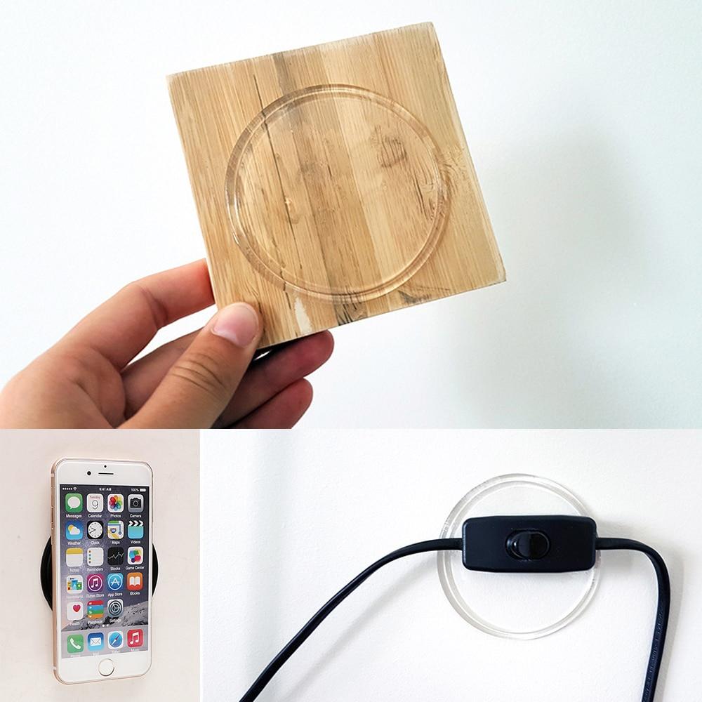 Car Styling Transparent Anti Slip Mat Wall Sticker Car Mobile Phone Holder Magic Sticky Gel Pad Anti-slip Mat mobile phone