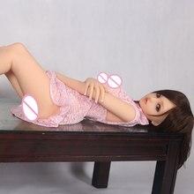Настоящий силикон 100 см секс-кукла наивысшего качества Реалистичная большая грудь любовь кукла реальность Оральный Вагинальный анус сексуальная кукла для мужчин