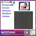 P6 крытый 32*32 pixel 16 s smd светодиодный модуль оптовая цена для полноцветная светодиодная вывеска светодиодный экран программируемые светодиодные табло доска