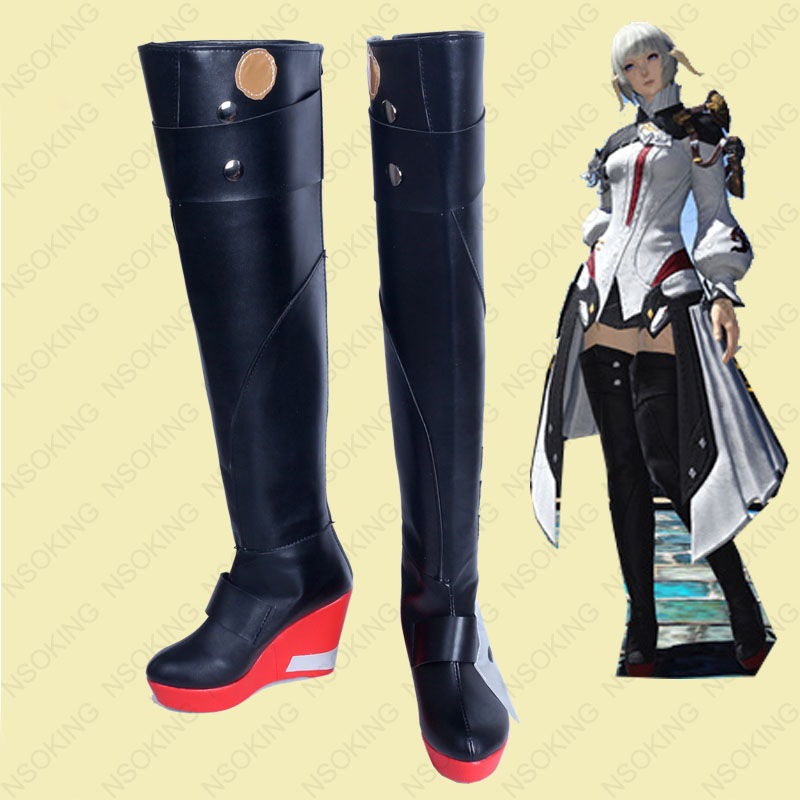 ff14 Special 31 Shoes Final Fantasy Us61 Anime Noveltyamp; Cosplay Boots OnAlibaba Group Xiv In Use 16Off From Y'shtola DHYbW9EIe2