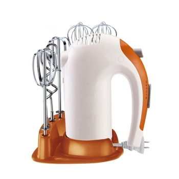 HIMOSKWA Hand Mixer and Handheld Dough Mixer with 5 Speed with Stainless Steel Hooks