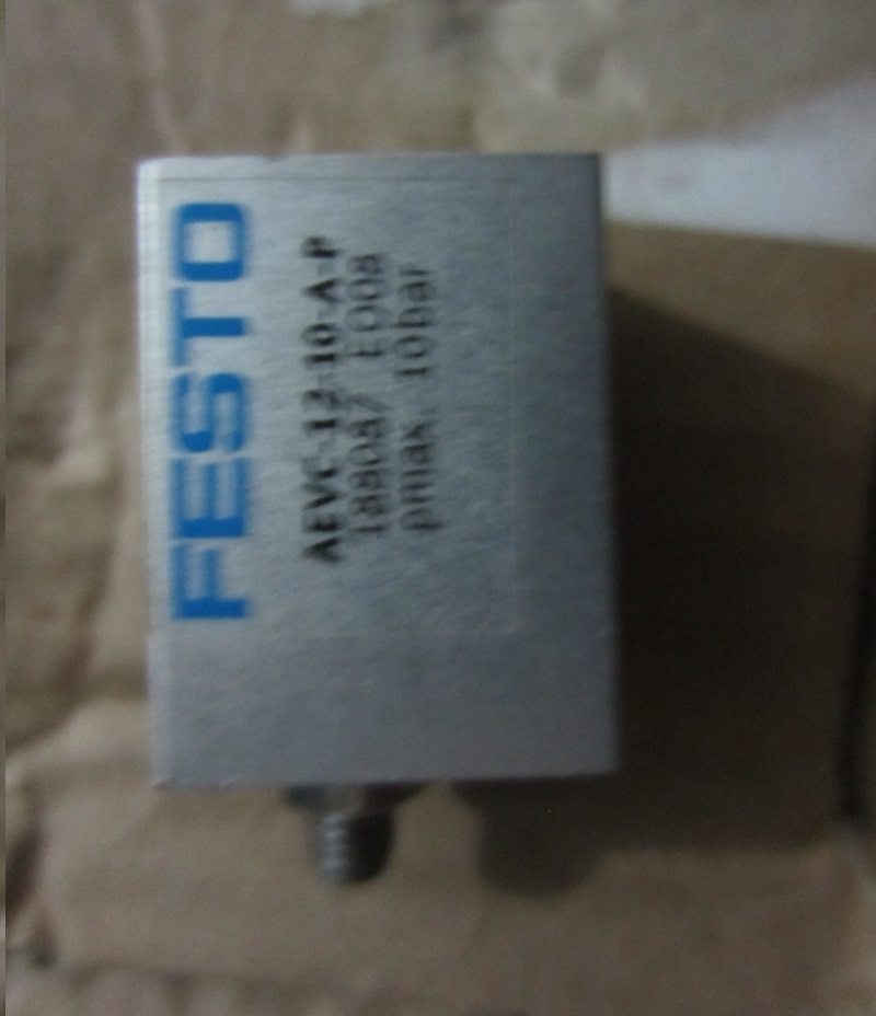 New original authentic FESTO AEVC-12-10-A-P cylinder No 188087 new original festo cylinder advu16 20 p a