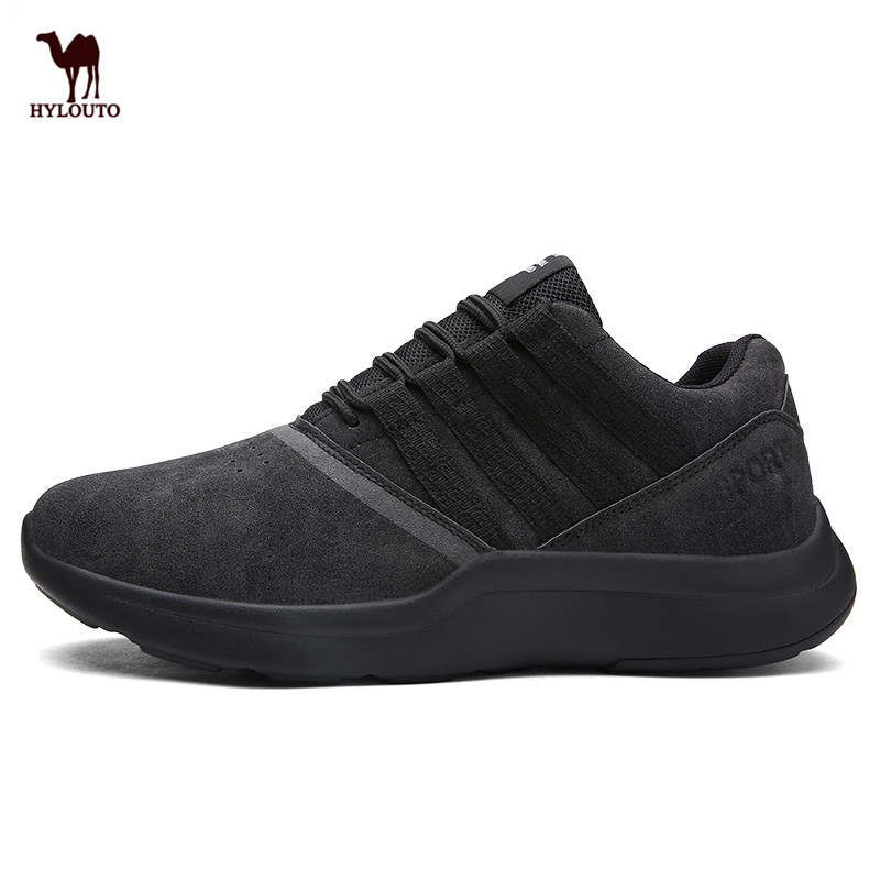 Men's Sneakers High Top Walking Shoes Non-slip Rubber Sole Round Shoes Ultra Boost Fitness Comfortable Soft Jogging Sports Shoes