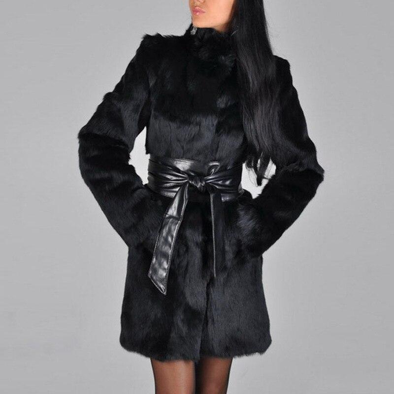 Poches Femelle Et Manteau En Long Gaine Automne Roulé Noir Solides Confortable Hiver Femme La Spéciale Mince Black Col Mode Offre 1wZx44