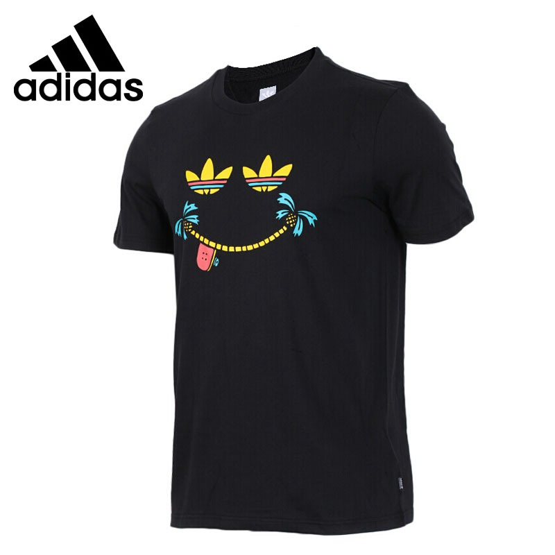 Original New Arrival 2018 Adidas Originals ISLND DLGHT TEE Men's T-shirts short sleeve Sportswear