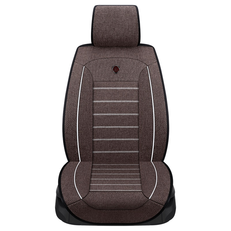 New high quality flax Car Seat Covers Universal Auto Comfortable for opel antara astra g h j corsa d insignia meriva mokka for opel astra h g opel insignia corsa small hole ventilate wear resistance pu leather front