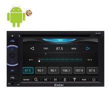 Eincar Android 8-core Восьмиядерный сенсорный экран автомобиля DVD CD-плееры GPS 2 дин Wi-Fi стерео головное устройство Поддержка Bluetooth, Wi-Fi Cam-в