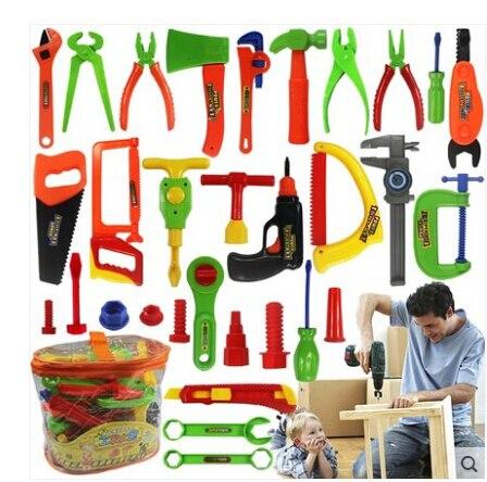 e564c1d8d الطفل التعليمية لعب الأطفال اللعب منزل كلاسيكي لعبة أطفال بلاستيكية أدوات  أدوات أدوات مطرقة أدوات المحاكاة