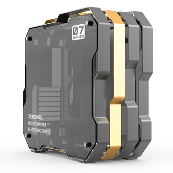 Zeaginal Middle Tower Chassis Desktop Computer Case For