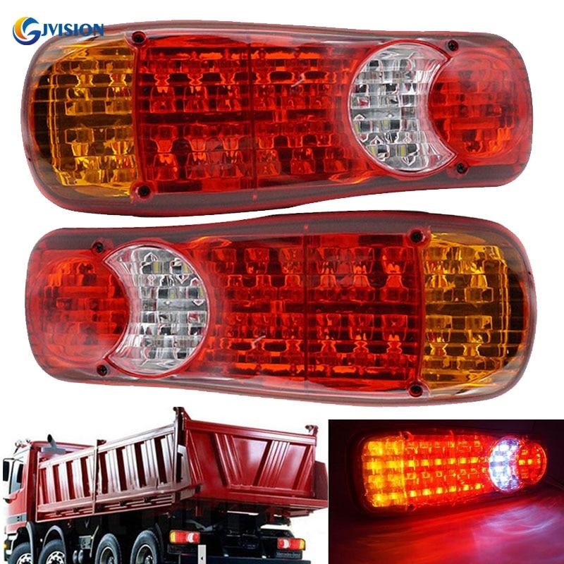 Daf Lf45 /& Lf55 Pair Right /& Left Rear Tail Stop Light Lamp