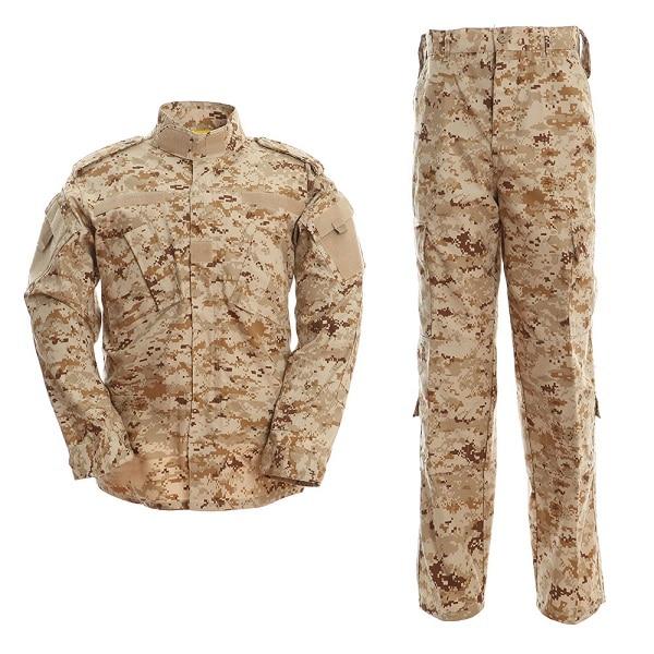 Desert Camouflage Men Army Military UniformTactical Military Bdu Combat Uniform US Army Men Hunt Clothing