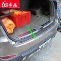 Para Hyundai ix35 ix 35 2010 2011 2012 Retaguardias Escudo Tronco Ajuste Etiqueta Trasera Cubierta De Parachoques Trasero Travesaño de La Puerta Decoración productos