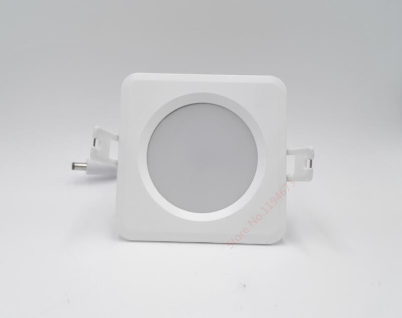 Free Shipping Dimmable 15W IP65 Waterproof LED Ceiling Square Recessed Warm White Pure White Cool White