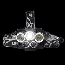 5 CREE LED Headlamp 15000 lumens