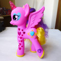 Original Cutie Mark Magic Speaking Russian Glowing Hearts Princess Cadance Figure Doll Toy Gift New Loose